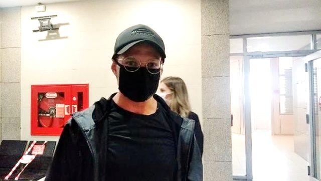 Survivor sunucusu Murat Ceylan, emre itaatsizlik davasından hakim karşısına çıktı